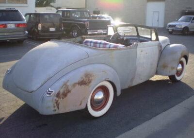 1940 Ford Convertible Deluxe