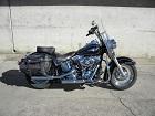 2012 Harley Davidson FLSTC Heritage Softail Classic - Black