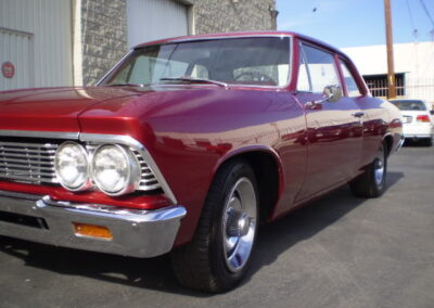 1966 Chevrolet Chevelle Chrome
