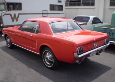 1965 Ford Mustang Chrome