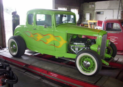 1932 Ford Coupe - Lime