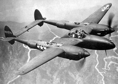 1942 P-38 Lakester Tank Bonneville