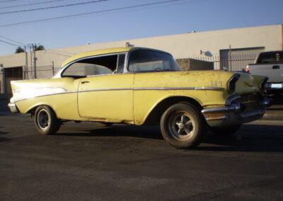 1957 Chevrolet Bel Air Chrome Yellow