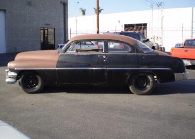 1951 Mercury 2 Door Hardtop Build
