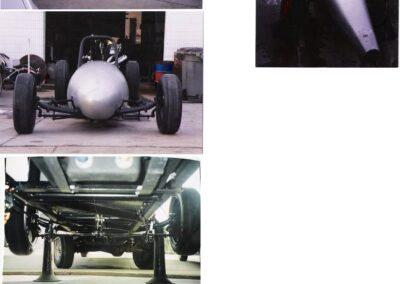 1952 USAF Belly Tank Lakester SCTA Aluminum