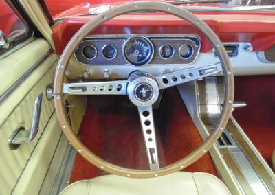 1966 Ford Mustang Convertible Spokes