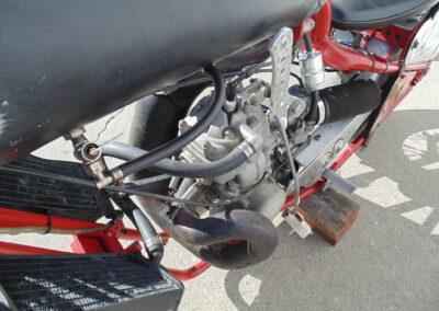 2009 Land Speed Bonneville Race Bike Triumph KX500 A/PG
