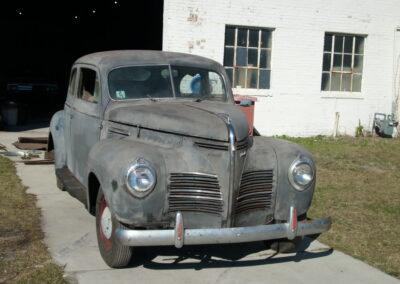 1940 Plymouth Sedan 2 Door