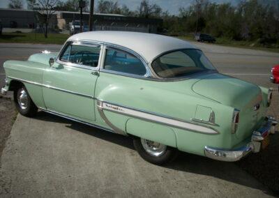 1954 Chevrolet Bel Air Post