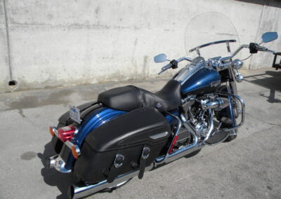 2013 Harley Davidson Road King Classic Blue FLHRC