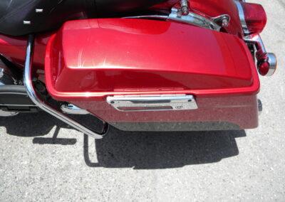 2012 Red Harley Davidson Road King FLHR