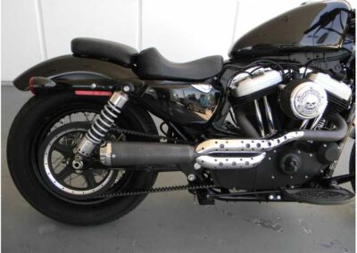 2011 Black Harley Davidson Sportster Forty Eight