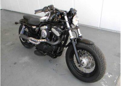 2011 Black Harley Davidson Sportster Forty Eight