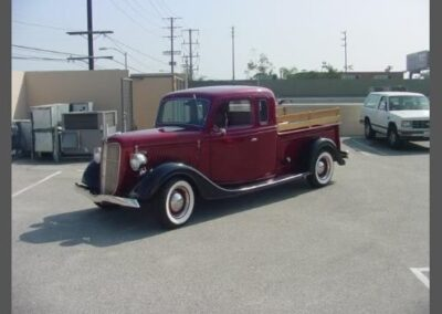 1936 Ford Pickup Extended Cab