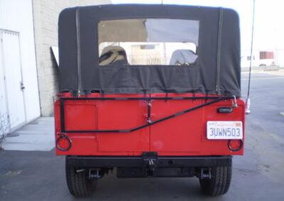 1963 Nissan Patrol Convertible