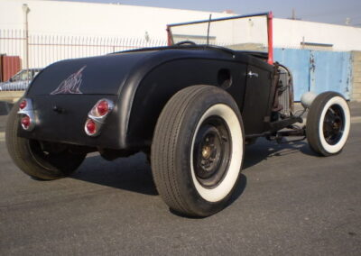 1929 Black Ford Roadster