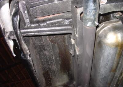 1958 Chevrolet Black Impala Hardtop
