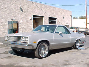 1984 Chevrolet El Camino Custom Lowrider